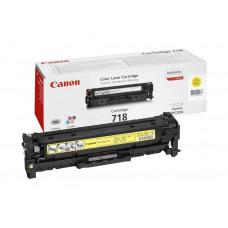 Canon Cartridge 718 Yellow