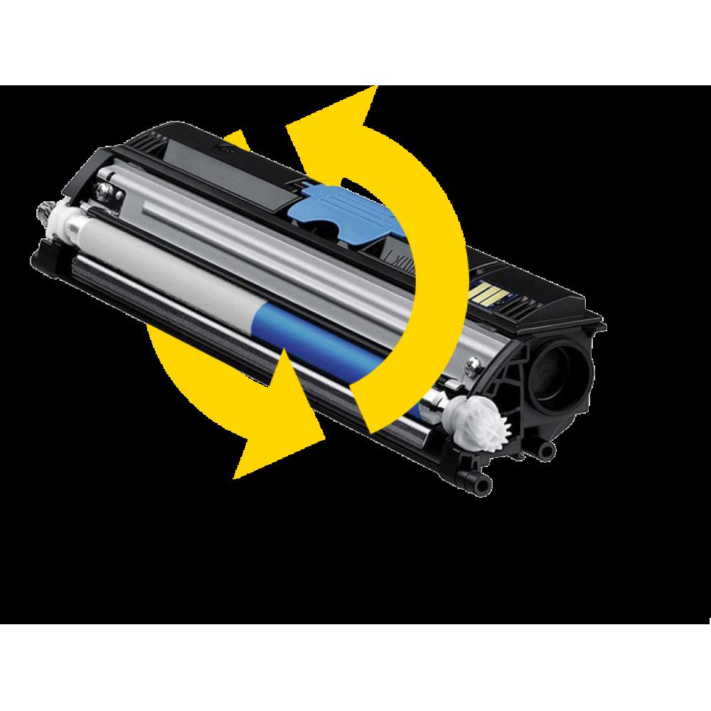 Заправка картриджа с заменой чипа KX-FAT411A