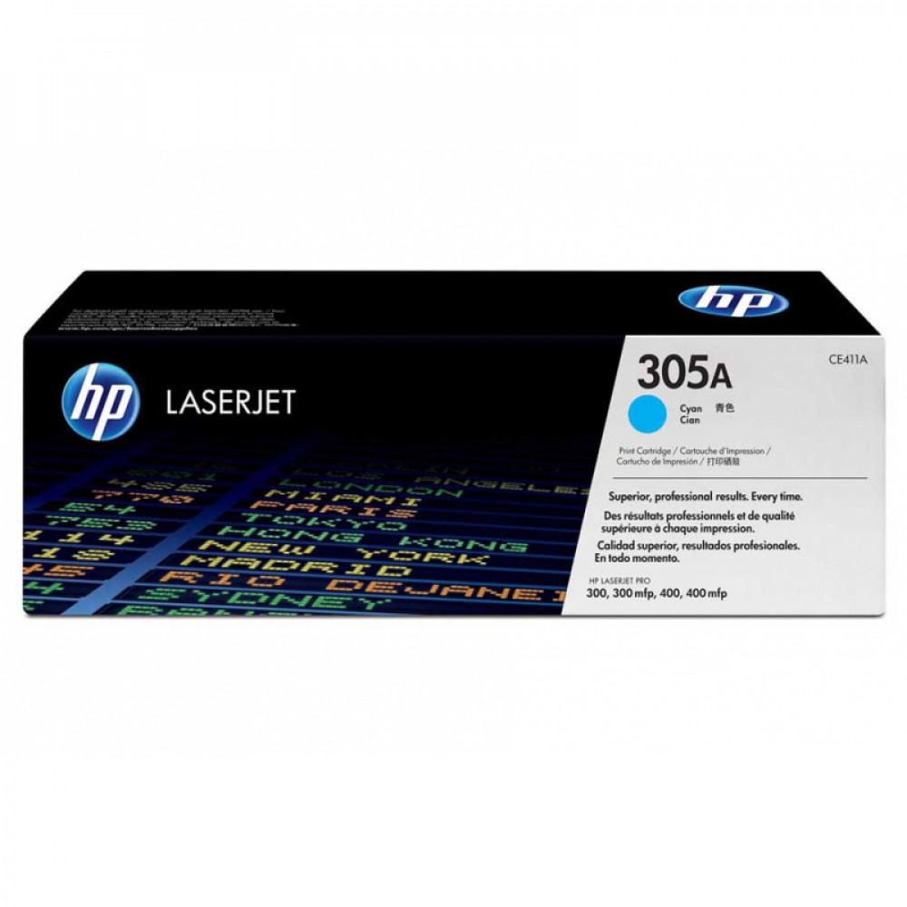 Картридж HP CE411A (305a) C