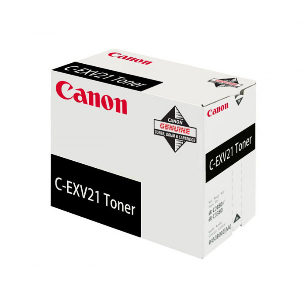 Картридж Canon C-EXV21 Bk (0452B002) (Original)