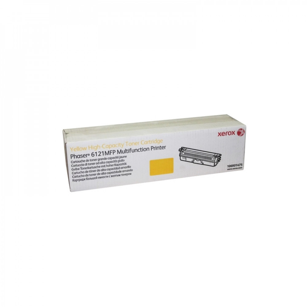 Картридж Xerox 106R01475 Phaser 6121 Yellow