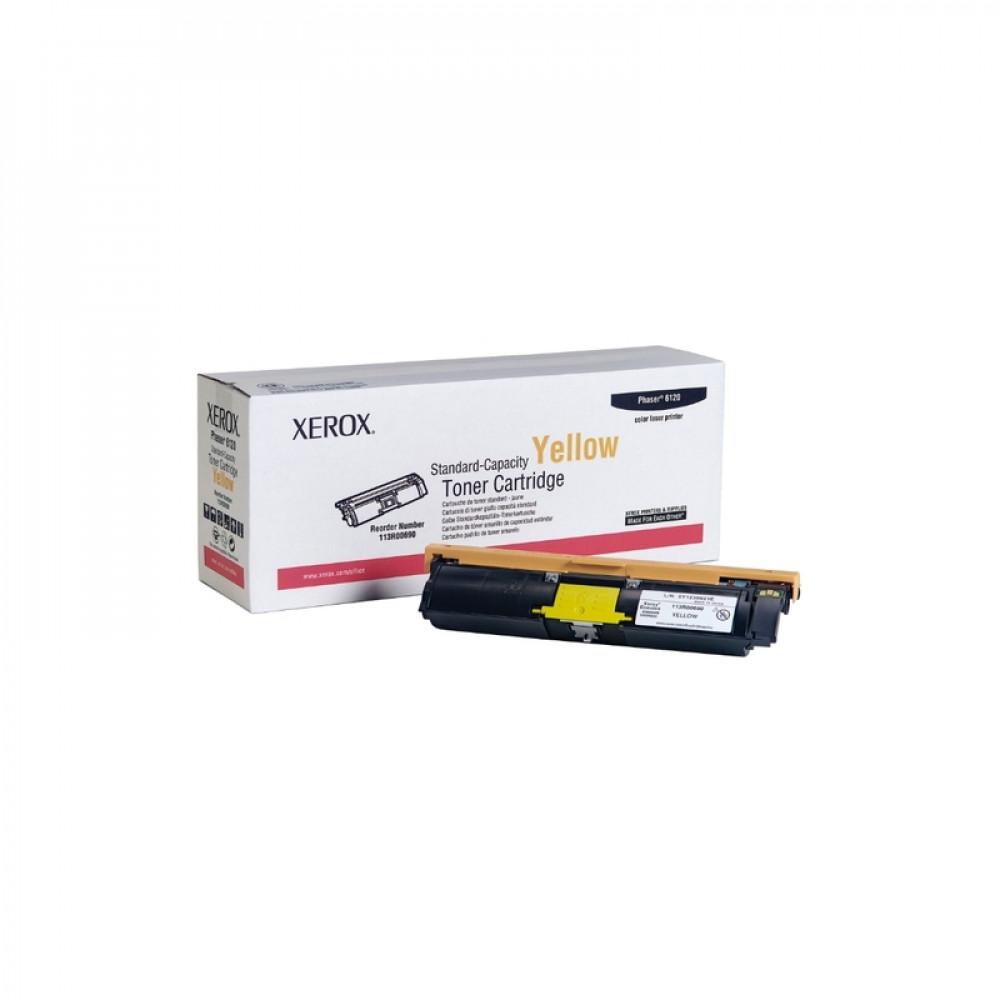 Картридж Xerox 113R00690 Phaser 6120/6115 yellow