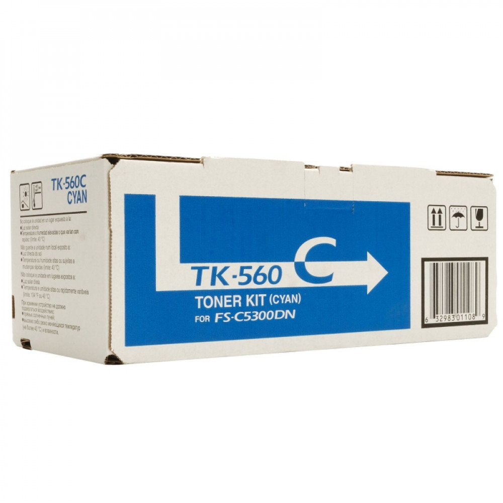 Тонер-картридж Kyocera TK-560C голубой для FS-C5300DN (1T02HNCEU0) (Original)