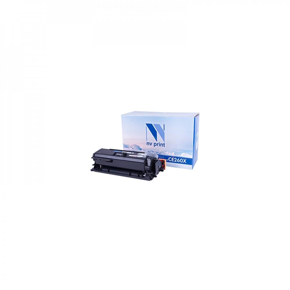 Картридж NV Print для HP CE260X Black для LJ Color CP4025/4525 (17000k)