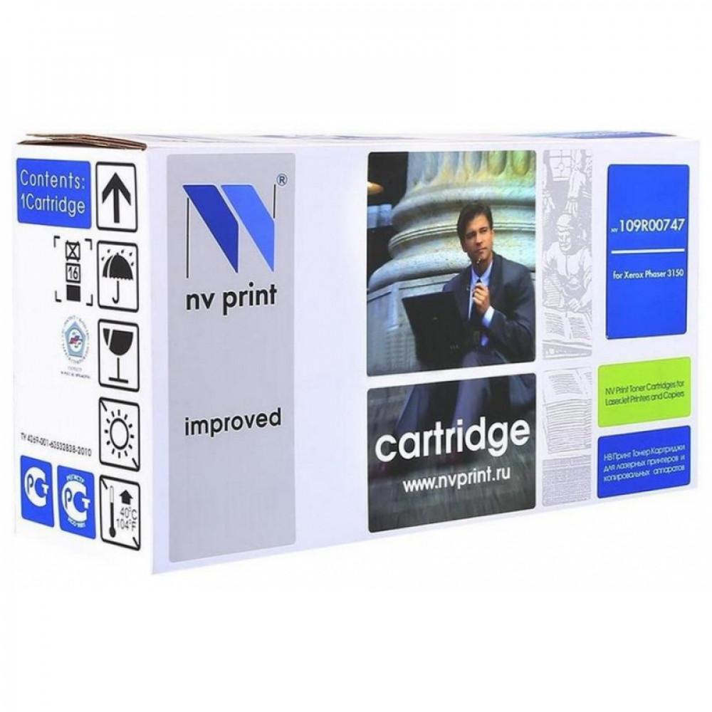 Картридж NV Print для Xerox 109R00747 для Phaser 3150 (5000k) (NV-109R00747)