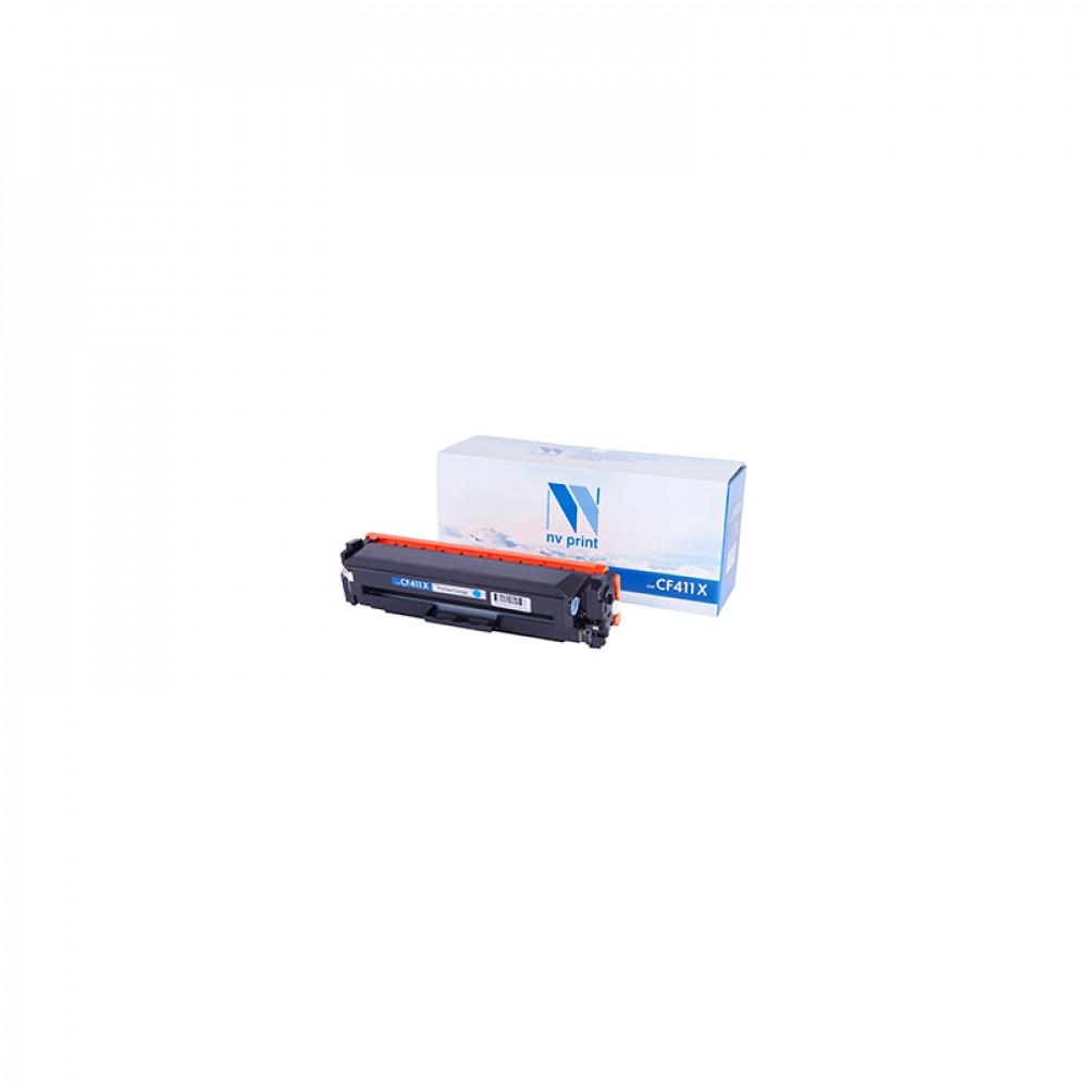 Картридж NV Print для HP CF411X Cyan для LaserJet Color Pro M377dw/M452nw/M452dn/M477fdn/M477fdw/M477fnw (5000k) (NV-CF411XC)