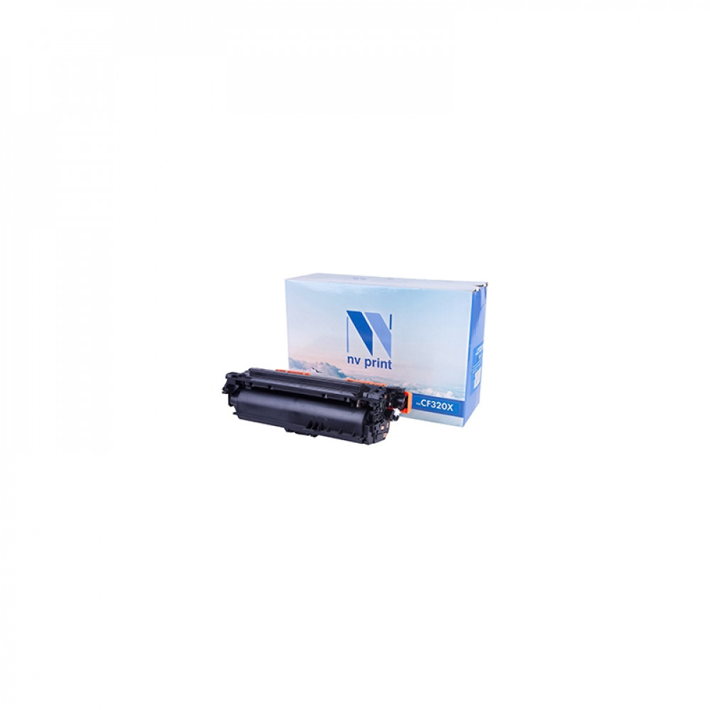 Картридж NV Print для НР CF320X Black для LaserJet Color MFP-M680dn/M680f/Flow M680z (21000k) (NV-CF320XBk)