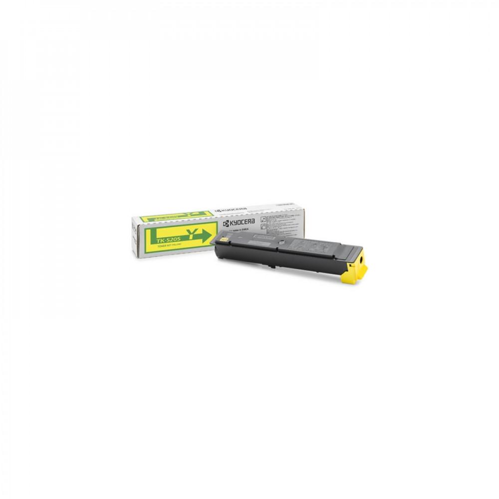 Тонер-картридж Kyocera Тонер-картридж TK-5205Y 12 000 стр. Yellow для TASKalfa 356ci