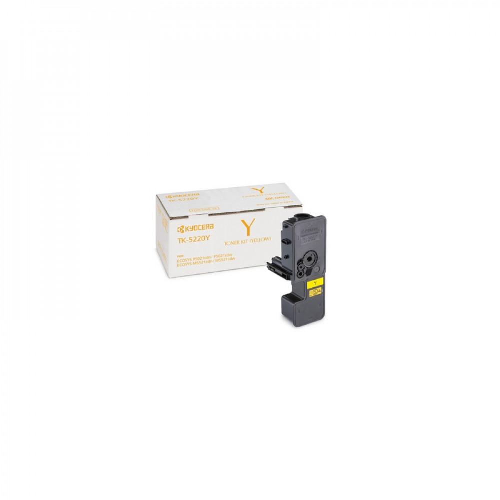 Тонер-картридж Kyocera Тонер-картридж TK-5220Y 1 200 стр. Yellow для P5021cdn/cdw, M5521cdn/cdw