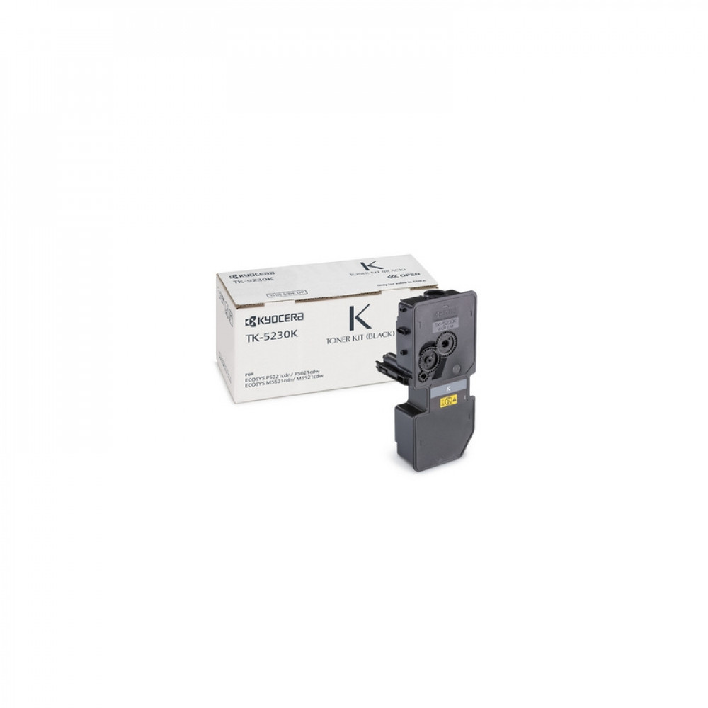 Тонер-картридж Kyocera Тонер-картридж TK-5230K 2 600 стр. Black для P5021cdn/cdw, M5521cdn/cdw