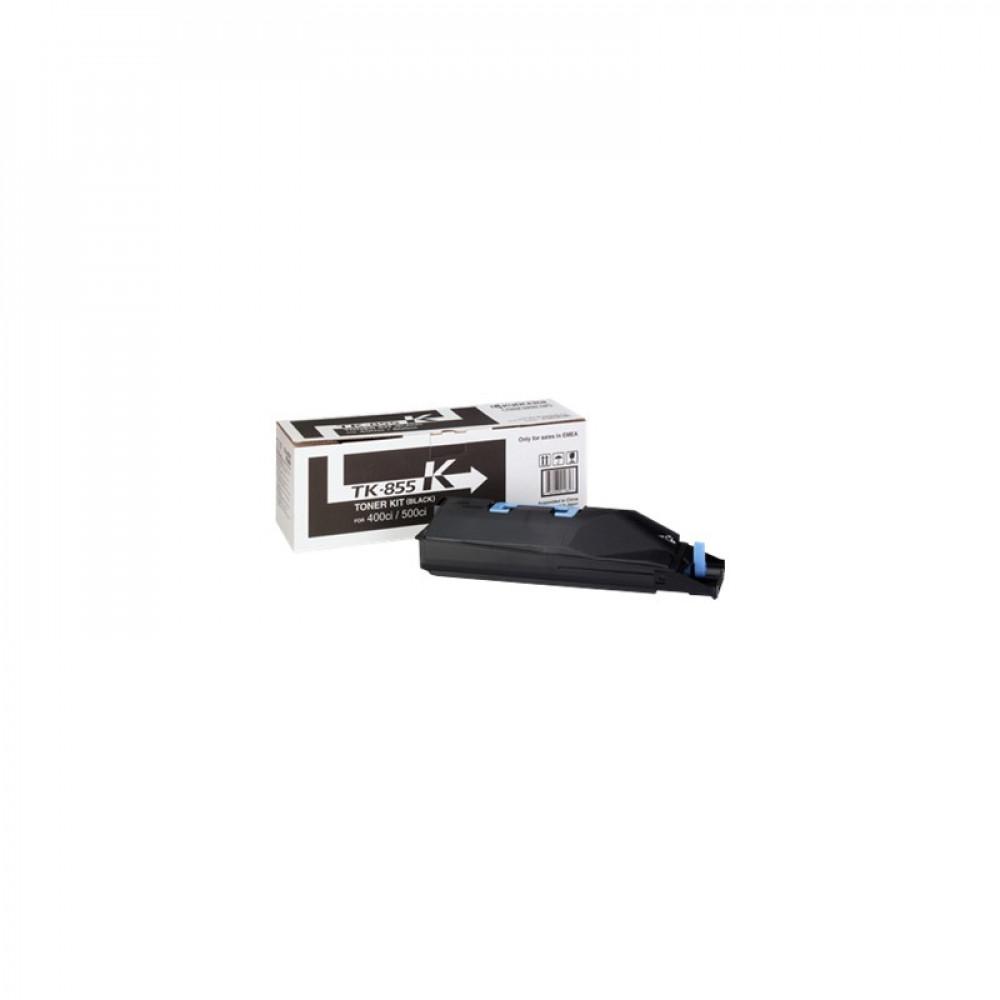 Тонер-картридж Kyocera Тонер-картридж TK-855K 25 000 стр. Black для TASKalfa 400ci/500ci/552ci