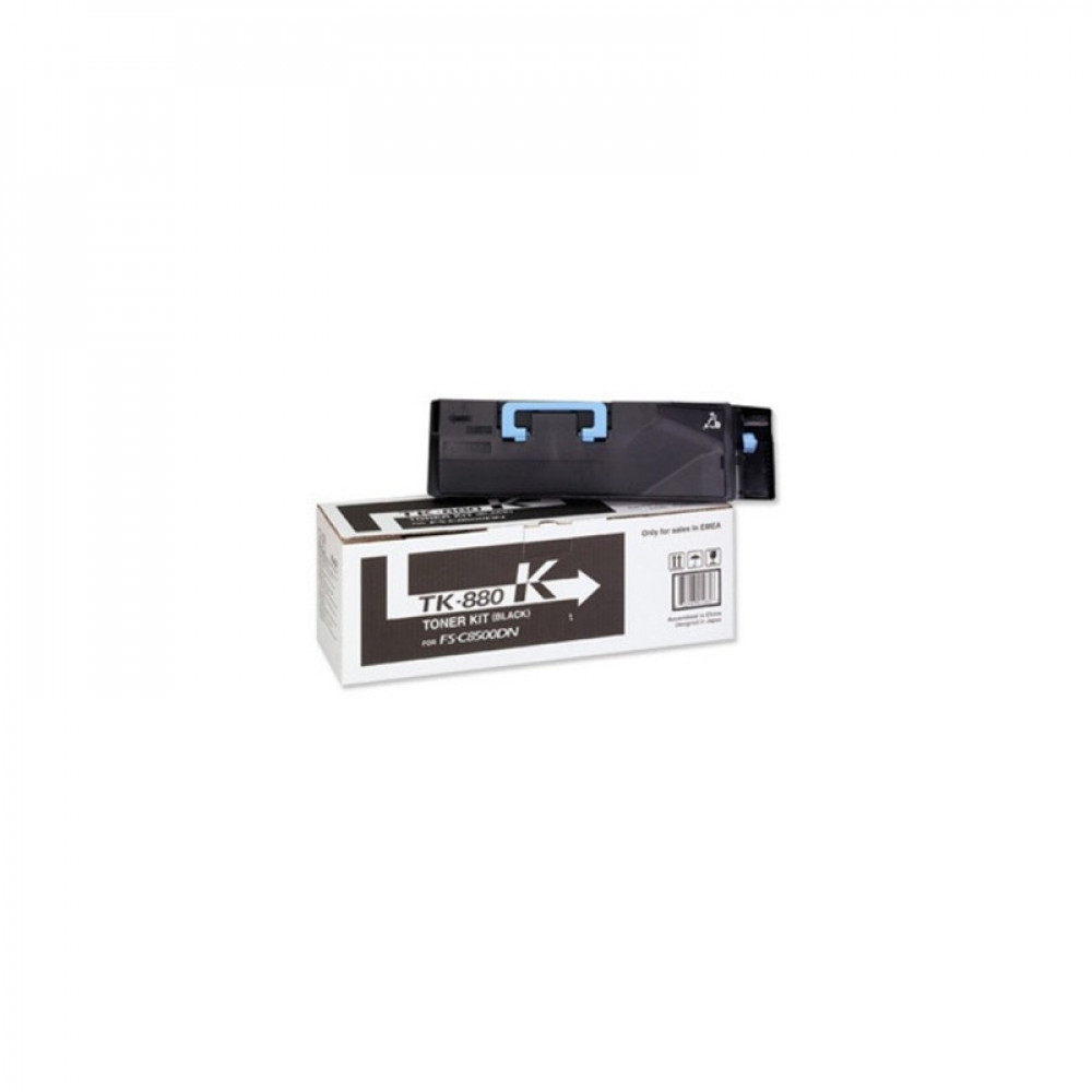 Тонер-картридж Kyocera Тонер-картридж TK-880K 25 000 стр. Black для FS-C8500DN