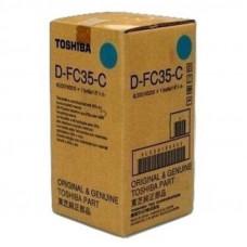 Девелопер Toshiba e-Studio 3500C type DFC35C синий