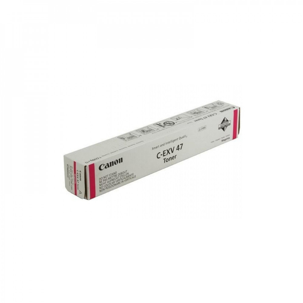 Тонер Canon C-EXV47 M EUR красный