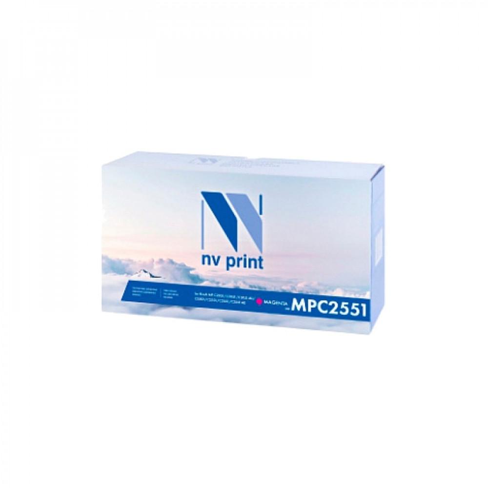 Тонер-картридж NV Print для Ricoh Aficio MP C2551 Magenta