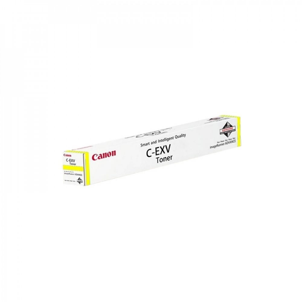 Тонер Canon C-EXV51L Y желтый