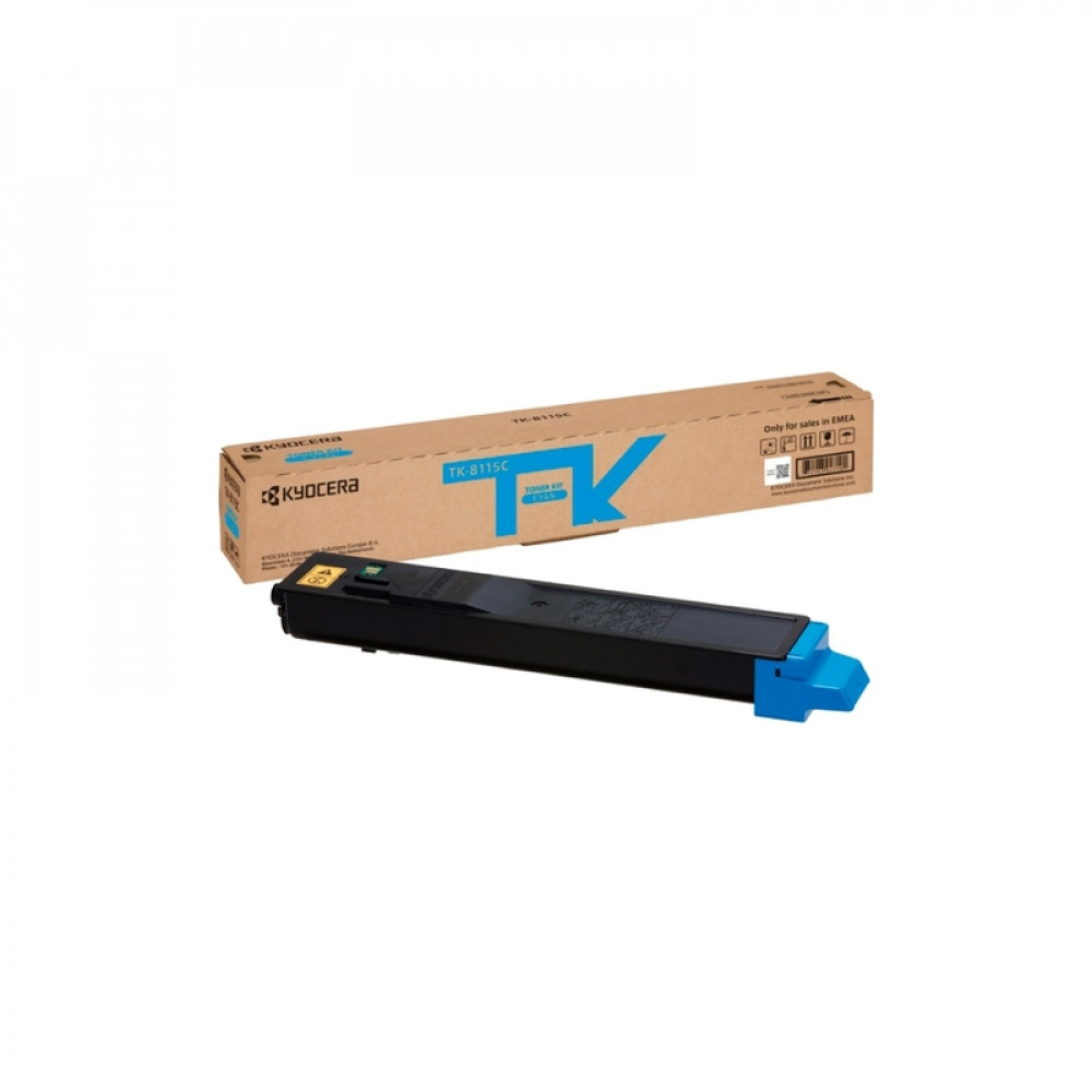 Тонер-картридж Kyocera TK-8115C для M8124cidn/M8130cidn