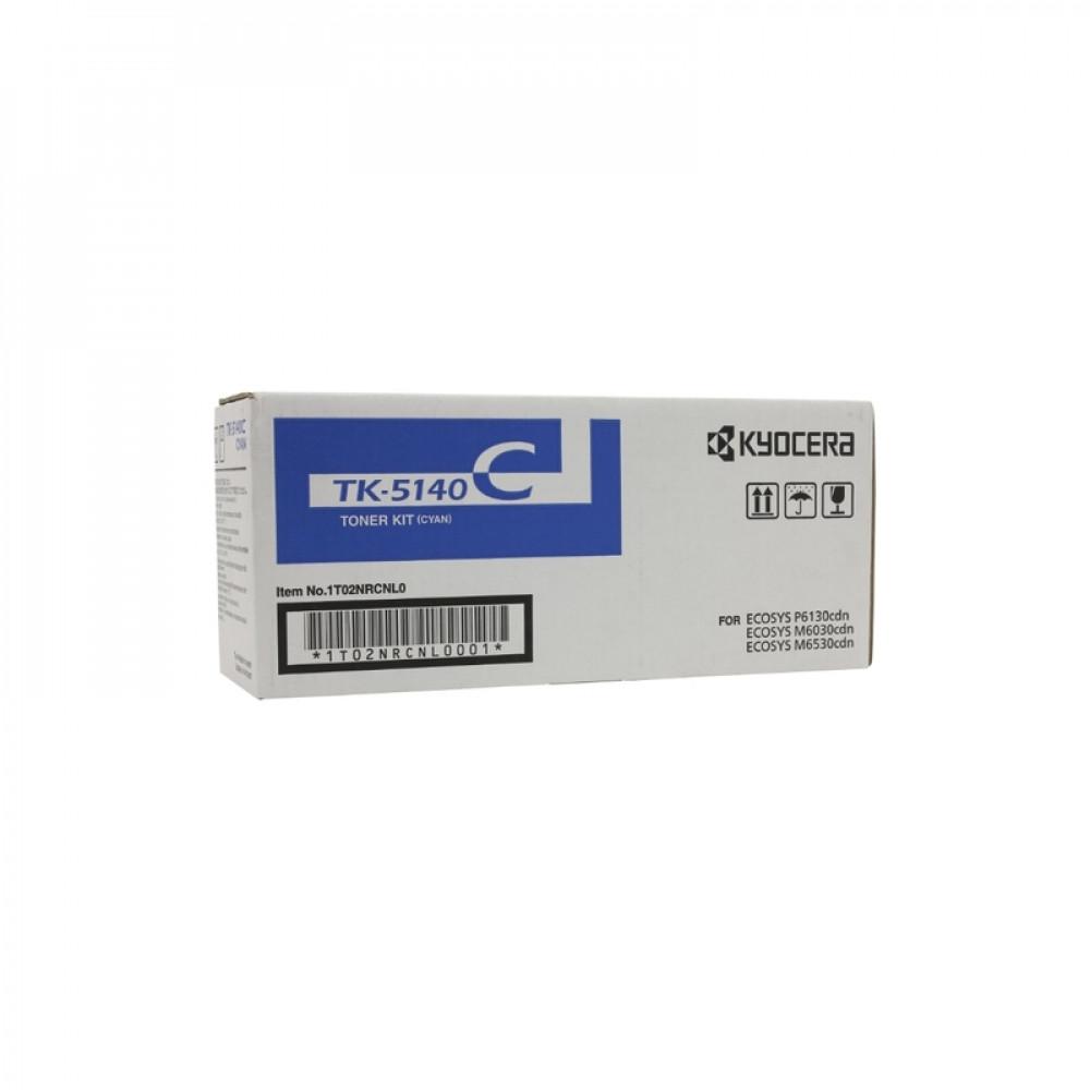 Картридж Kyocera ТК-5140C голубой для Kyocera Ecosys