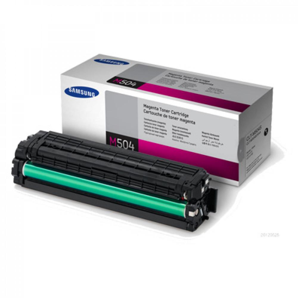 Картридж Samsung CLT-M504S 1.8 K Magenta